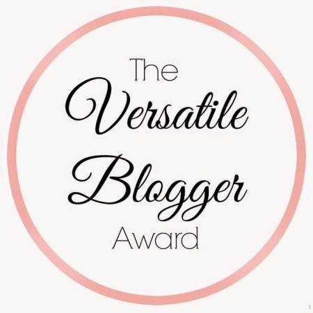 Versatile Blogger Award Logo