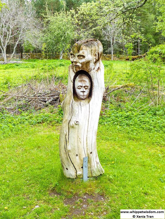 'Inner Man' sculpture on Frank Bruce Sculpture Trail