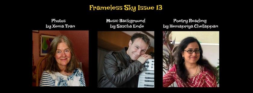 Frameless Sky Issue 13 Contributor Portraits